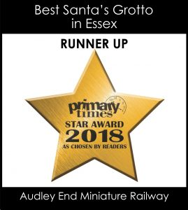 Audley End Railway Runner Up Star Award 2018
