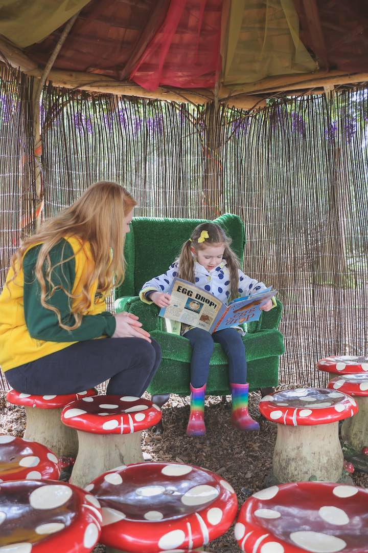story-telling-at-the-audley-end-miniature-railway essex family day out