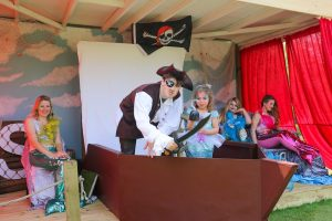 station master pirates at the audley end miniature railway