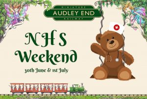 discounted tickets for people who work for the NHS audley end miniature railway