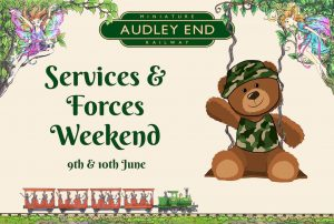 discounted tickets for people who work for the forces or services audley end miniature railway