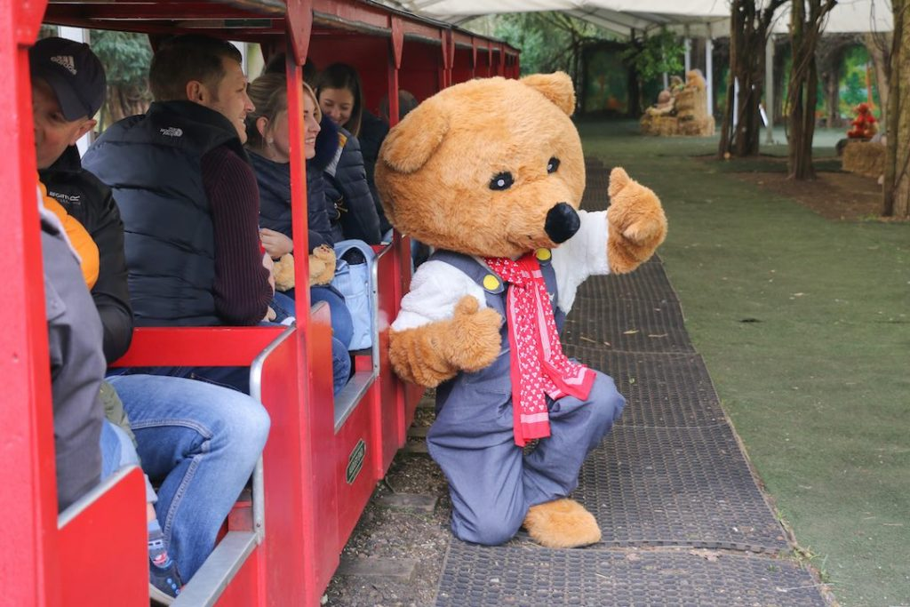 donate a bear to the audley end miniature railway