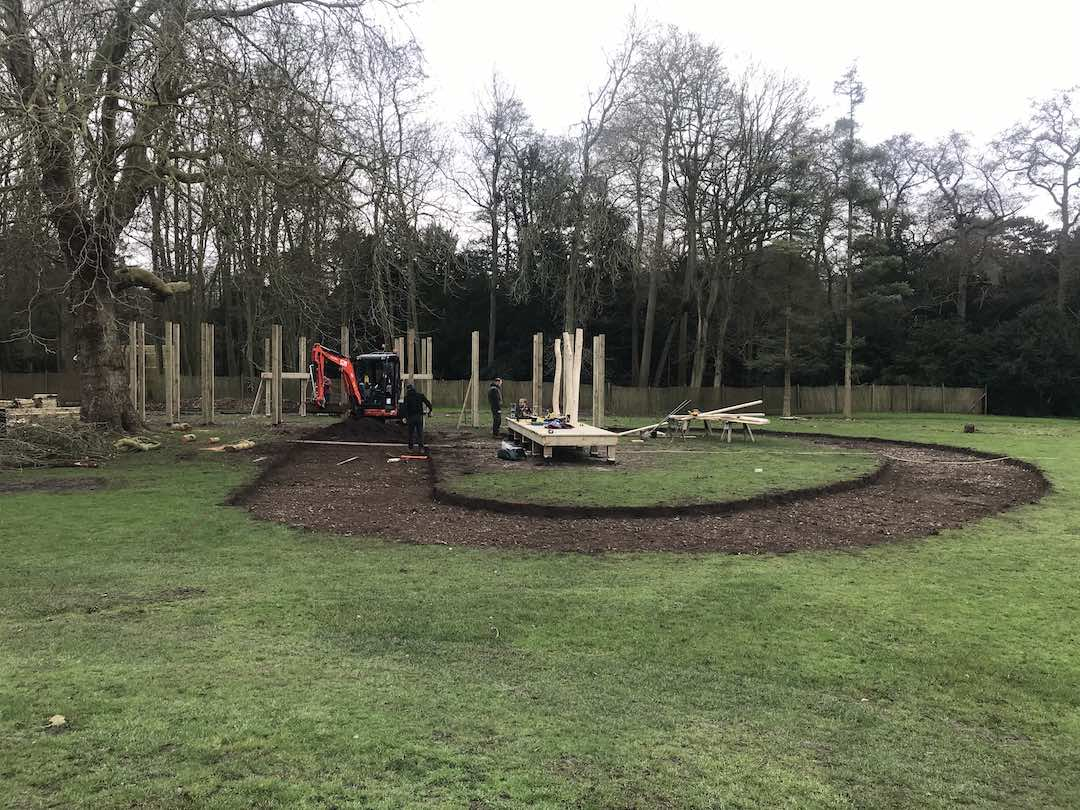 new play equipment at audley end