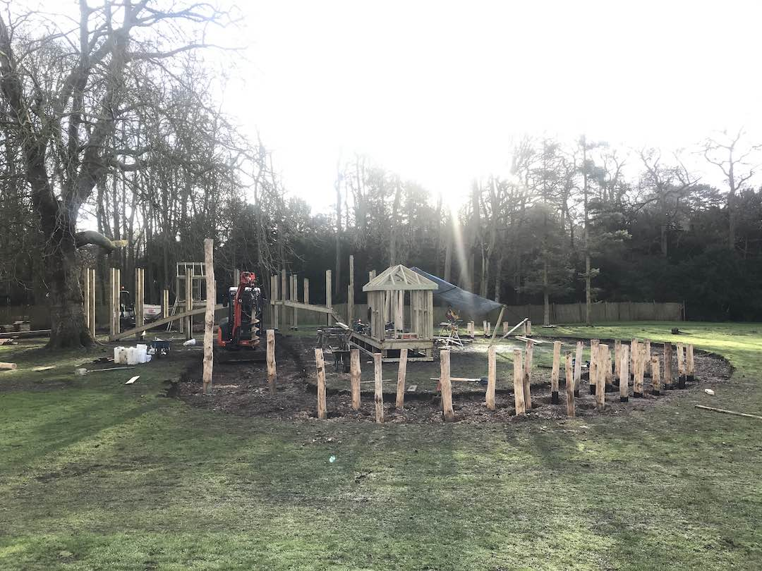 play area opening at the audley end miniature railway