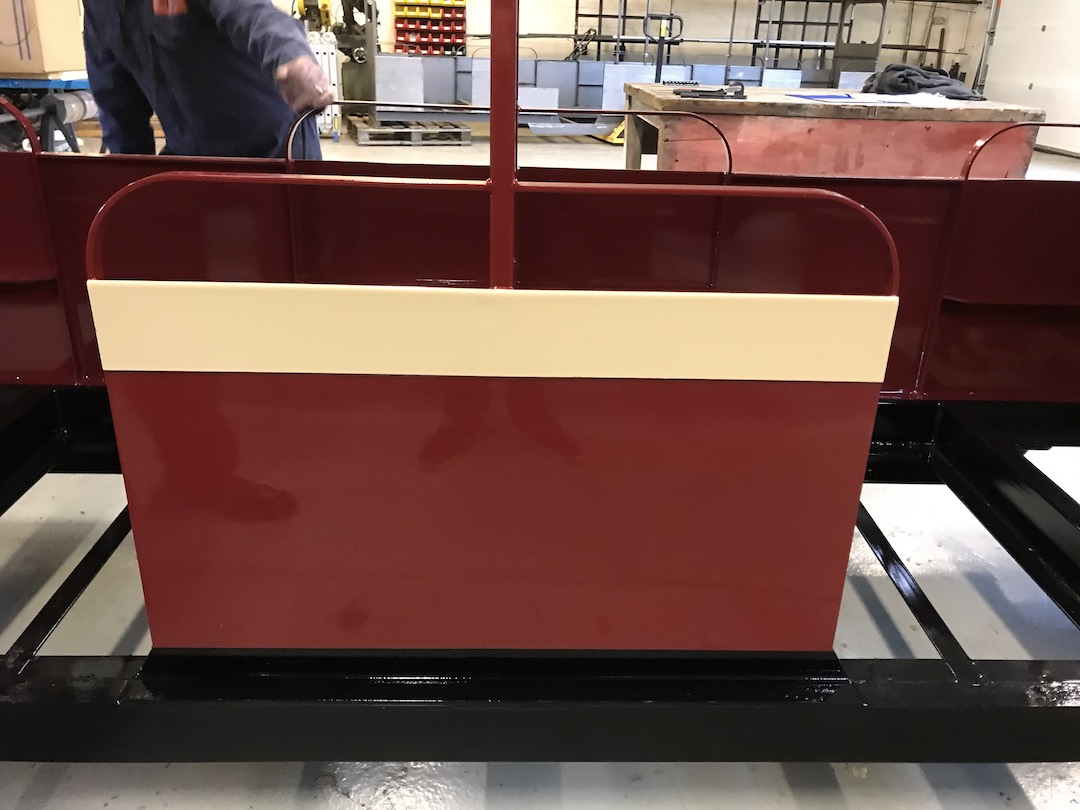 new paint colour for the carriages