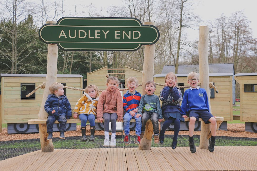 brand new play area audley end miniature railway