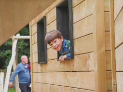 outdoor play area for children in saffron walden