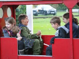 Halloween event in essex for families audley end miniature railway