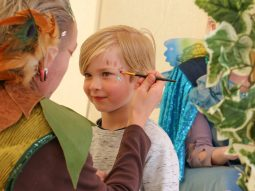 face-painting-audley-end-miniature-railway