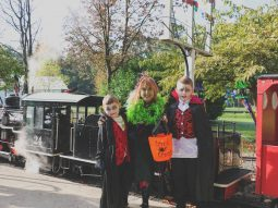 halloween event essex for the family audley end miniature railway