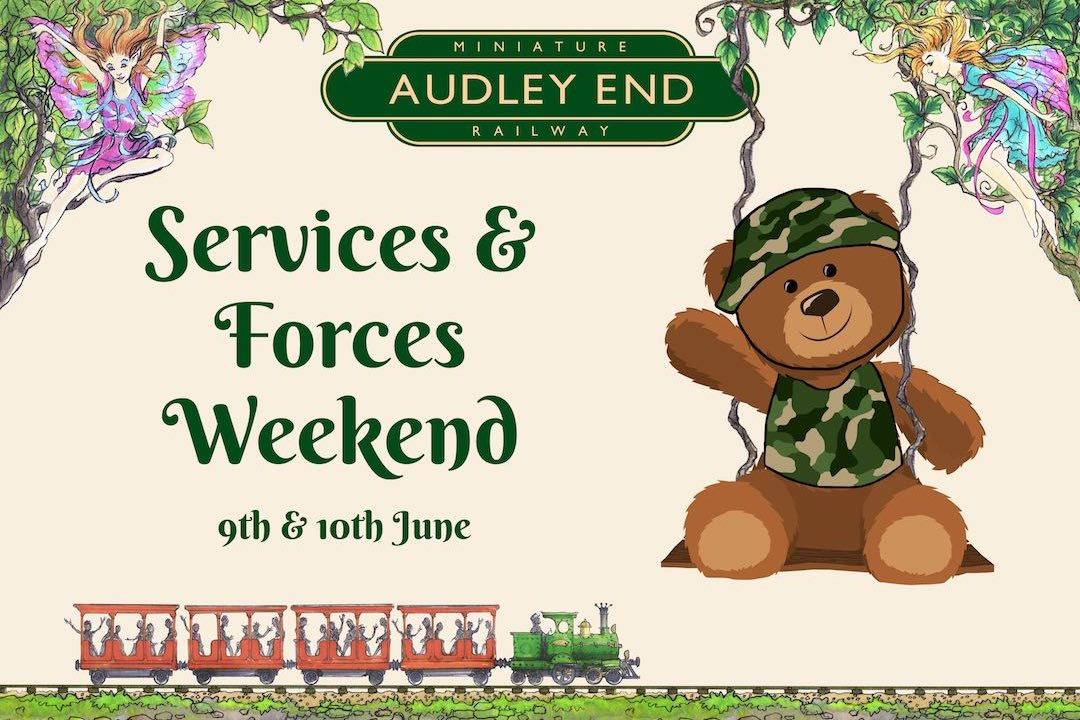 discounted tickets for people who work for the forces or services audley end miniature railway small
