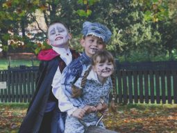 childrens halloween event in essex audley end miniature railway