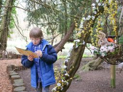 easter trail essex audley end miniature railway family days out