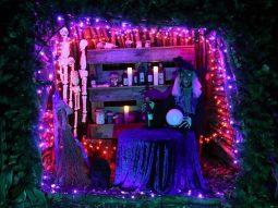 halloween decorations audley end miniature railway