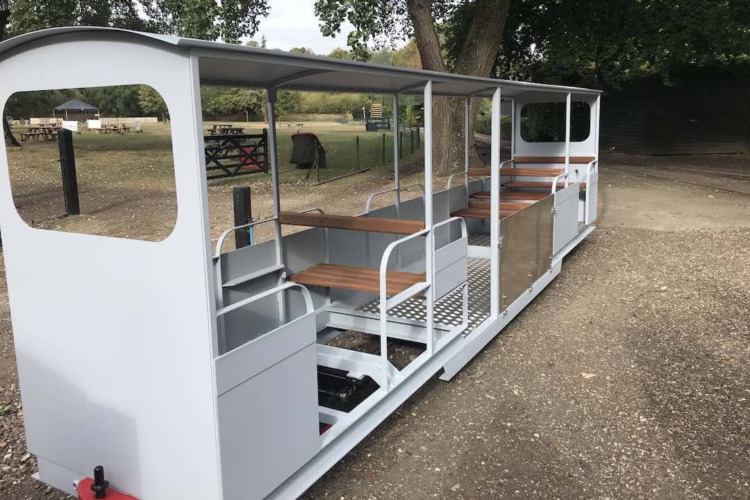 new carriages for the audley end miniature railway small