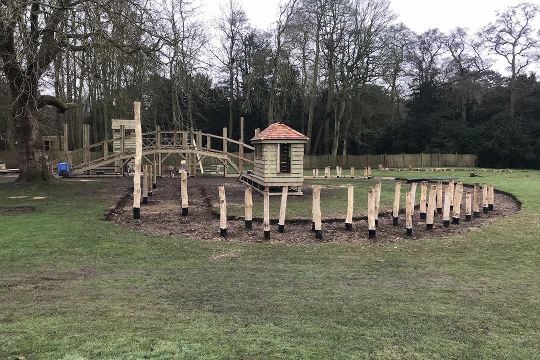 brand new play area in saffron walden essex