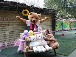 donate a bear day audley end miniature railway