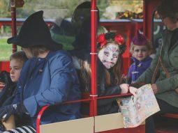 train rides for halloween near saffron walden