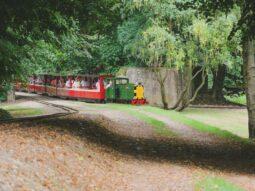 miniature train ride in cambridge for children