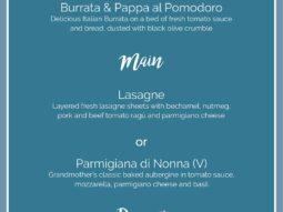 italian alfresco dining experience